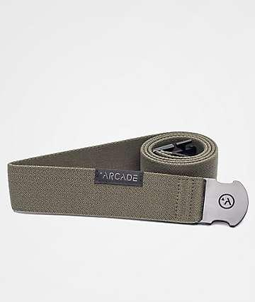 Arcade Ranger Olive Green Clip Belt
