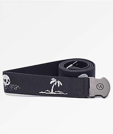Arcade Strand Black & Grey Web Belt