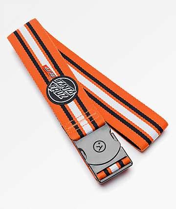 Arcade x Santa Cruz Asta Pro Model Orange & White Clip Belt