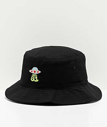 Artist Collective A51 Beam Black Bucket Hat