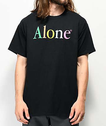 Artist Collective Alone Black T-Shirt