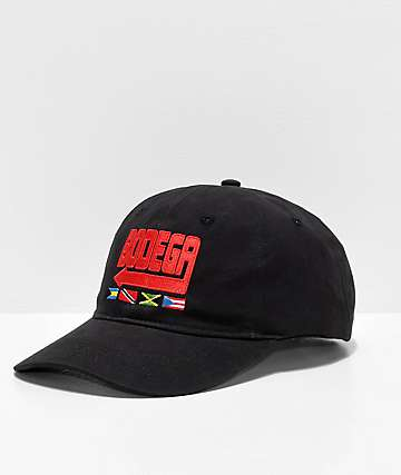 Artist Collective Bodega Black Strapback Hat