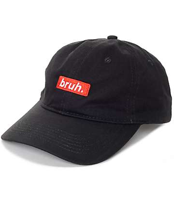 Artist Collective Bruh Black Baseball Hat