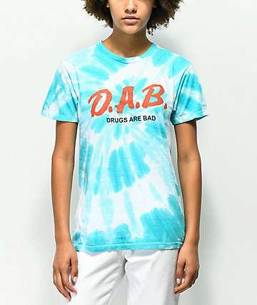 Artist Collective D.A.B. Blue Tie Dye T-Shirt