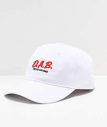 Artist Collective D.A.B. White & Red Strapback Hat