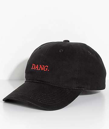 Artist Collective Dang Black Strapback Hat