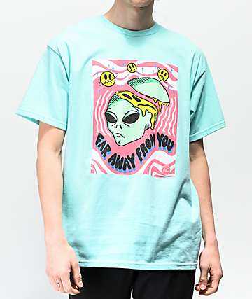 Artist Collective Far Away Teal T-Shirt