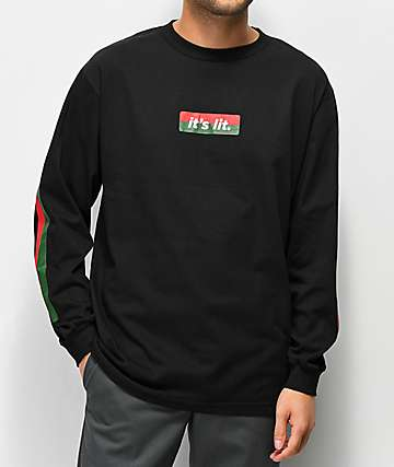 Artist Collective G Lit Black Long Sleeve T-Shirt