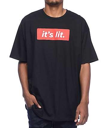 Artist Collective It's Lit Black T-Shirt