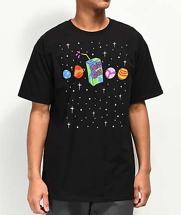 Artist Collective Juice Box Galaxy Black T-Shirt