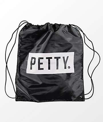Artist Collective Petty Black & White Cinch Bag