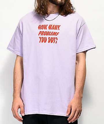Artist Collective Problems You Got Purple T-Shirt