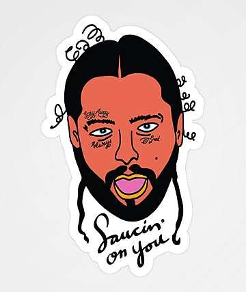 Artist Collective Saucin' On You Sticker