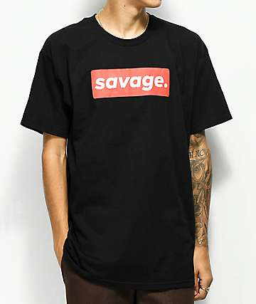 Artist Collective Savage Box Black T-Shirt