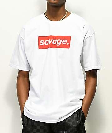 Artist Collective Savage. Box camiseta blanca