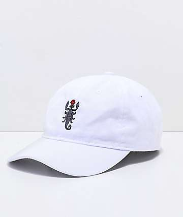 6bd02ca12c59f Artist Collective Scorpion White Baseball Hat