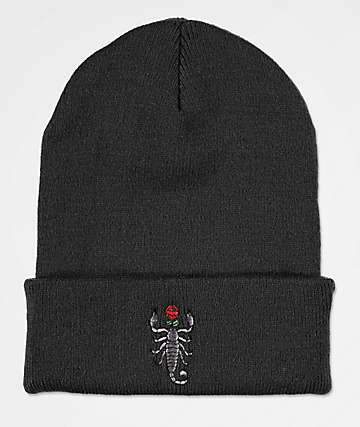 Artist Collective Scorpion gorro negro