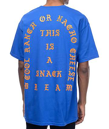 Artist Collective Snack Dream Cool Ranch Blue T-Shirt