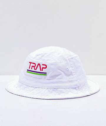 Artist Collective Space Trap White Bucket Hat