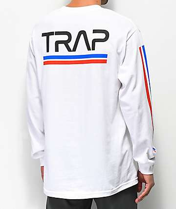 Artist Collective Space Trap White Long Sleeve T-Shirt