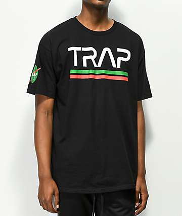 Artist Collective Space Trap camiseta negra