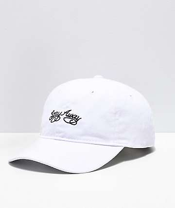43c67f140dfc0 Artist Collective Stay Away White Dad Hat