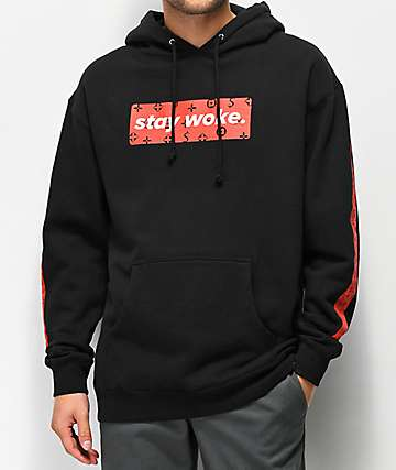Artist Collective Stay Woke Box Black Hoodie
