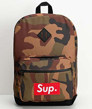 Artist Collective Sup. Camo Backpack