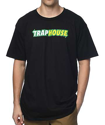 Artist Collective Trap House Arrow Black T-Shirt