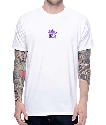 Artist Collective Trap House White T-Shirt