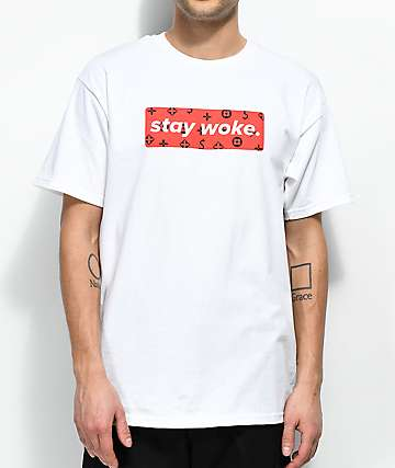 Artist Collective Woke Box White T-Shirt