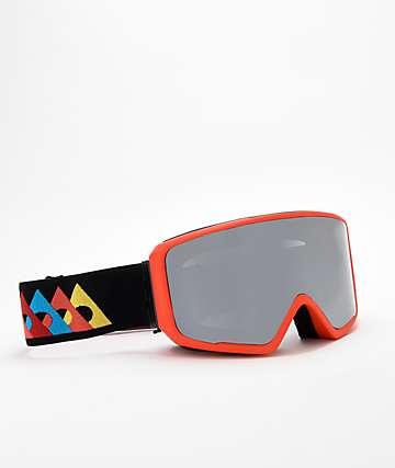 Ashbury Arrow Flash gafas de snowboard en rojo y negro