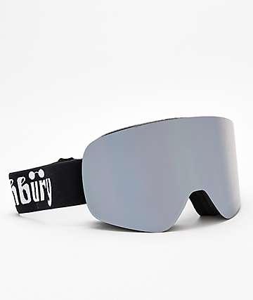 Ashbury Sonic gafas de snowboard en negro