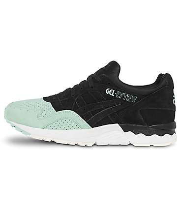 Asics Platinum Gel-Lyte V Black & Mint Shoes