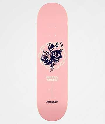 "Autonomy Eliana 8.0"" Pink Skateboard Deck"
