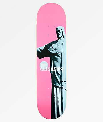 "Autonomy Eliana Pro Pink 8.0"" Skateboard Deck"