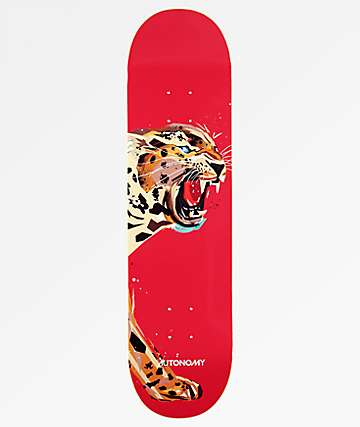 "Autonomy Jaguar Endangered 8.0"" Skateboard Deck"