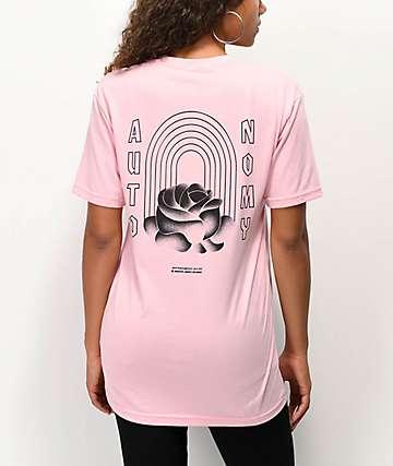 Autonomy Subrosa Pink T-Shirt