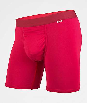 BN3TH Crimson Boxer Briefs