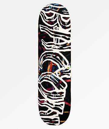 "Bacon Graffiti Font 8.5"" tabla de skate"