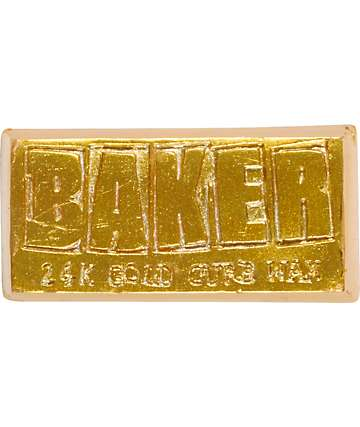Baker 24K Gold Skateboard Curb Wax