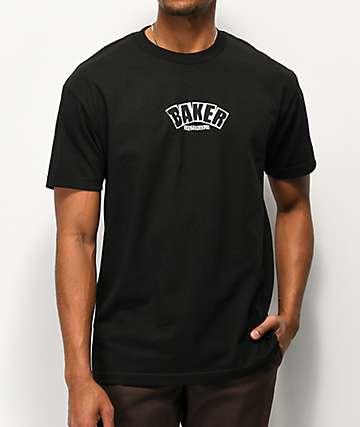 Baker Arch Logo Black T-Shirt