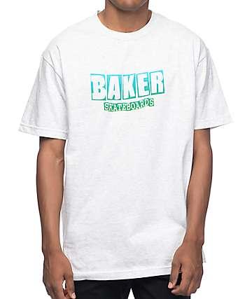 Baker Brand Logo Ash Grey T-Shirt
