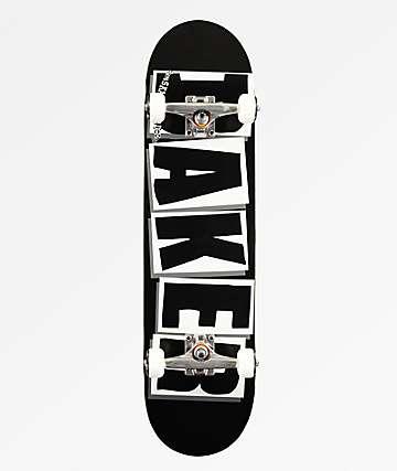 """Baker Brand Logo Black 8.25"""" Skateboard Complete"""