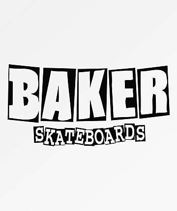 Baker Brand Logo Sticker