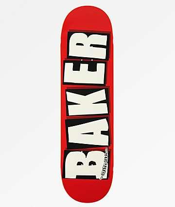 """Baker Brand Logo White 8.5"""" Skateboard Deck"""