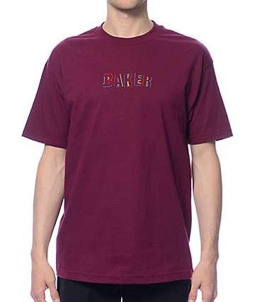Baker Childs Play Burgundy T-Shirt