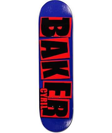 "Baker Cyril Brand Name 8.125""  Skateboard Deck"