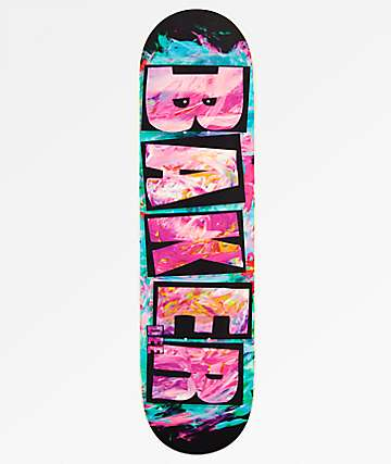 "Baker DO Logo Finger Paint 8.12"" Skateboard Deck"