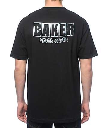 Baker Dubs Holographic Black T-Shirt